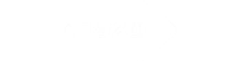 Logo of Mazo in white