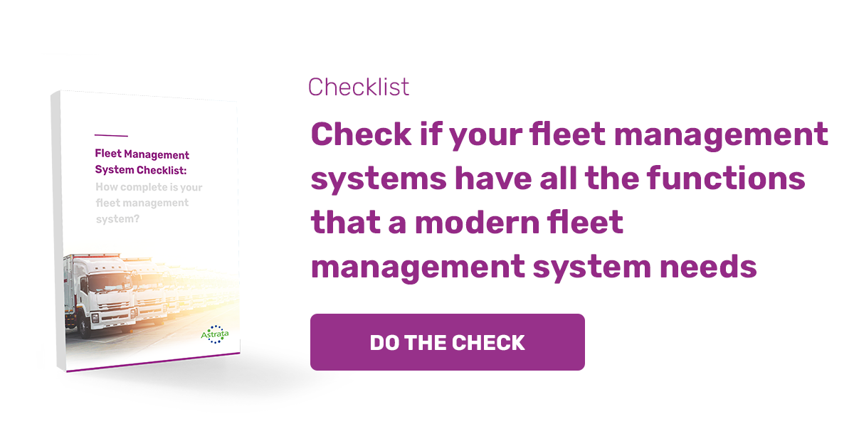 Fleet Management Checklist
